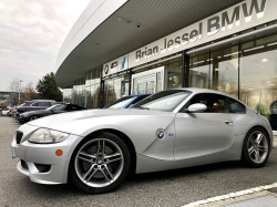 2006 BMW Z4 M Coupe in Titanium Silver Metallic over Imola Red Nappa