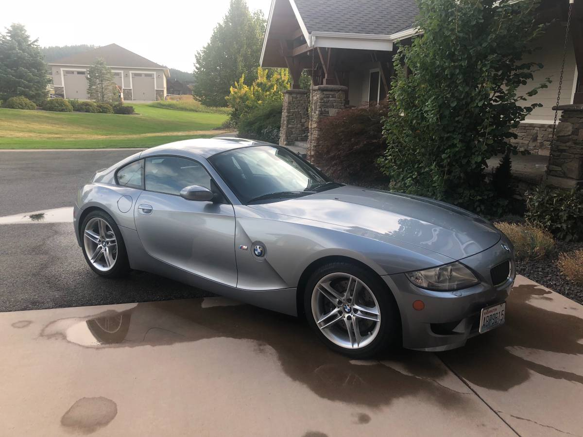 2007 BMW Z4 M Coupe in Silver Gray Metallic over Other