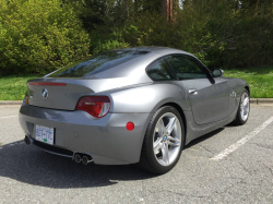 2008 BMW Z4 M Coupe in Space Gray Metallic over Black Nappa
