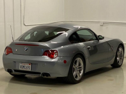 2006 BMW Z4 M Coupe in Silver Gray Metallic over Imola Red Nappa