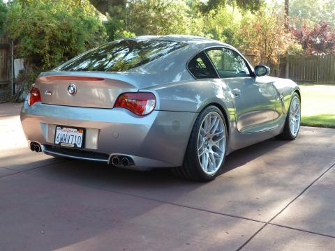 2006 BMW Z4 M Coupe in Silver Gray Metallic over Black Extended Nappa