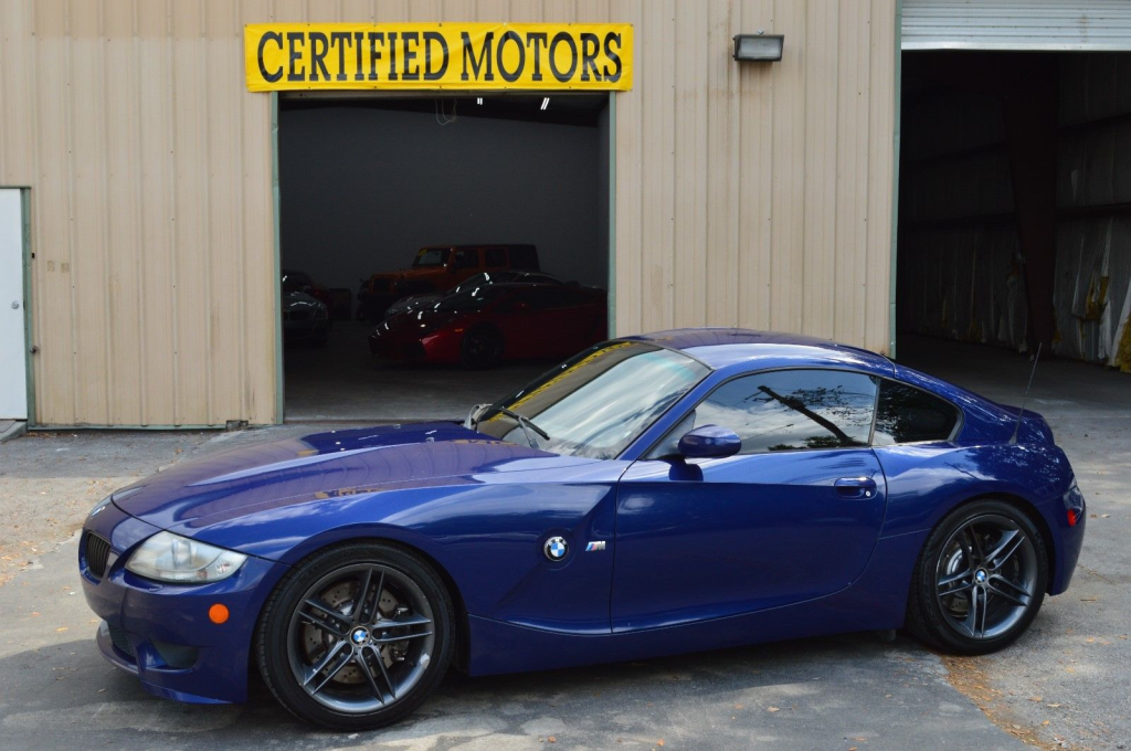 2006 BMW Z4 M Coupe in Interlagos Blue Metallic over Black Nappa