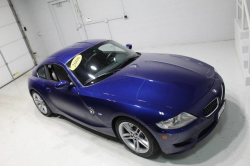 2006 BMW Z4 M Coupe in Interlagos Blue Metallic over Light Sepang Bronze Nappa