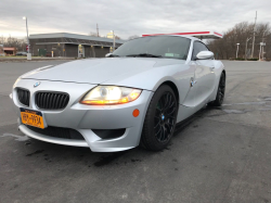 2006 BMW Z4 M Coupe in Titanium Silver Metallic over Black Nappa