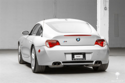 2006 BMW Z4 M Coupe in Titanium Silver Metallic over Black Extended Nappa