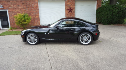 2006 BMW Z4 M Coupe in Black Sapphire Metallic over Black Extended Nappa