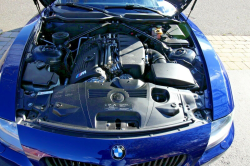 2006 BMW Z4 M Coupe in Interlagos Blue Metallic over Black Extended Nappa