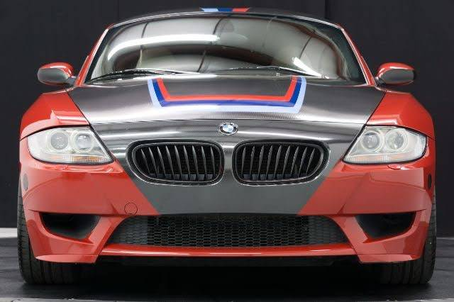 2006 BMW Z4 M Coupe in Imola Red 2 over Light Sepang Bronze Extended Nappa
