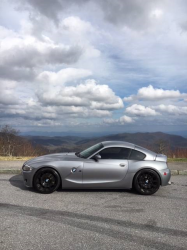 2006 BMW Z4 M Coupe in Silver Gray Metallic over Dark Sepang Brown Nappa