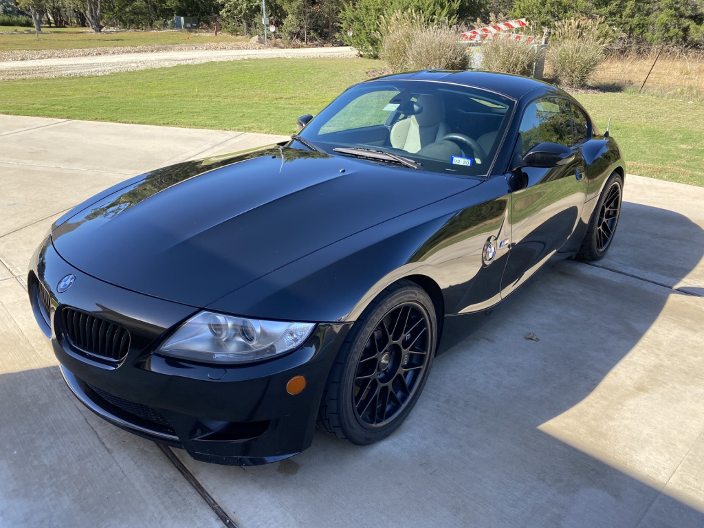 2006 BMW Z4 M Coupe in Black Sapphire Metallic over Light Sepang Bronze Nappa