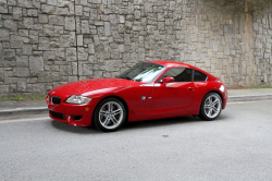 2007 BMW Z4 M Coupe in Imola Red 2 over Imola Red Nappa