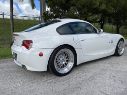 2007 BMW Z4 M Coupe in Alpine White III over Light Sepang Bronze Extended Nappa