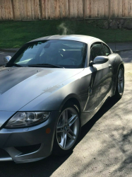 2007 BMW Z4 M Coupe in Silver Gray Metallic over Black Extended Nappa