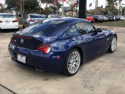 2007 BMW Z4 M Coupe in Interlagos Blue Metallic over Light Sepang Bronze Extended Nappa