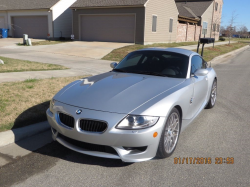 2007 BMW Z4 M Coupe in Titanium Silver Metallic over Black Extended Nappa