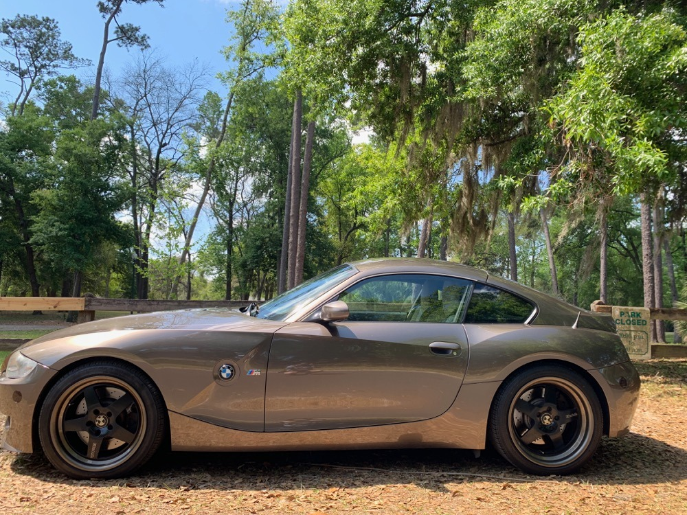 2007 BMW Z4 M Coupe in Sepang Bronze Metallic over Light Sepang Bronze Extended Nappa