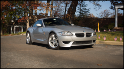 2007 BMW Z4 M Coupe in Titanium Silver Metallic over Black Nappa