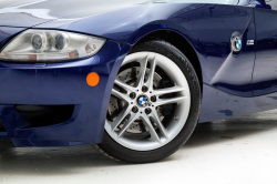 2007 BMW Z4 M Coupe in Interlagos Blue Metallic over Black Extended Nappa