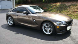 2007 BMW Z4 M Coupe in Sepang Bronze Metallic over Dark Sepang Brown Nappa