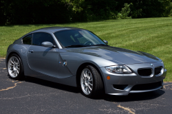 2007 BMW Z4 M Coupe in Silver Gray Metallic over Black Nappa