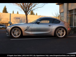 2007 BMW Z4 M Coupe in Silver Gray Metallic over Dark Sepang Brown Nappa