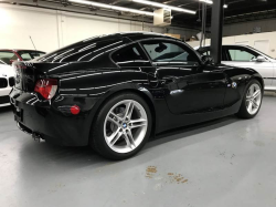 2007 BMW Z4 M Coupe in Black Sapphire Metallic over Imola Red Nappa