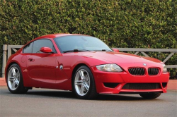 2007 BMW Z4 M Coupe in Imola Red 2 over Black Nappa
