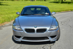 2007 BMW Z4 M Coupe in Silver Gray Metallic over Light Sepang Bronze Extended Nappa