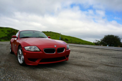 2007 BMW Z4 M Coupe in Imola Red 2 over Black Extended Nappa
