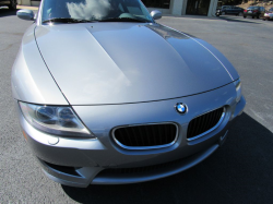 2007 BMW Z4 M Coupe in Silver Gray Metallic over Imola Red Nappa