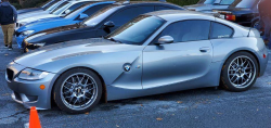 2007 BMW Z4 M Coupe in Silver Gray Metallic over Light Sepang Bronze Nappa