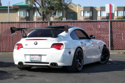 2007 BMW Z4 M Coupe in Alpine White III over Black Nappa