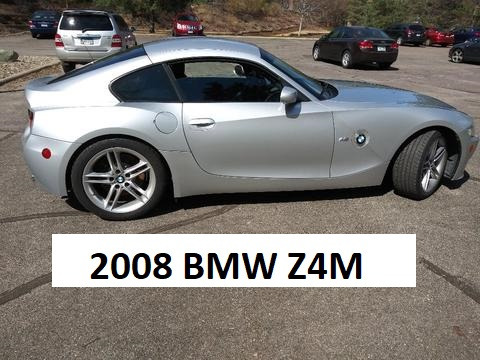 2008 BMW Z4 M Coupe in Titanium Silver Metallic over Black Nappa