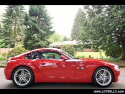 2008 BMW Z4 M Coupe in Imola Red 2 over Dark Sepang Brown Nappa