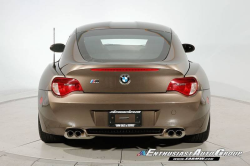 2008 BMW Z4 M Coupe in Sepang Bronze Metallic over Dark Sepang Brown Nappa