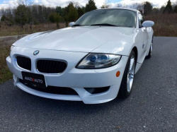 2008 BMW Z4 M Coupe in Alpine White III over Black Extended Nappa