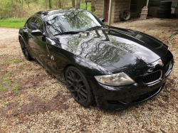 2008 BMW Z4 M Coupe in Black Sapphire Metallic over Light Sepang Bronze Nappa