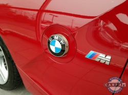 2008 BMW Z4 M Coupe in Imola Red 2 over Black Nappa