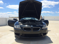2007 BMW Z4 M Coupe in Black Sapphire Metallic over Light Sepang Bronze Nappa